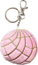 "Load image into Gallery viewer, ""Concha"" Keychain, strawberry"