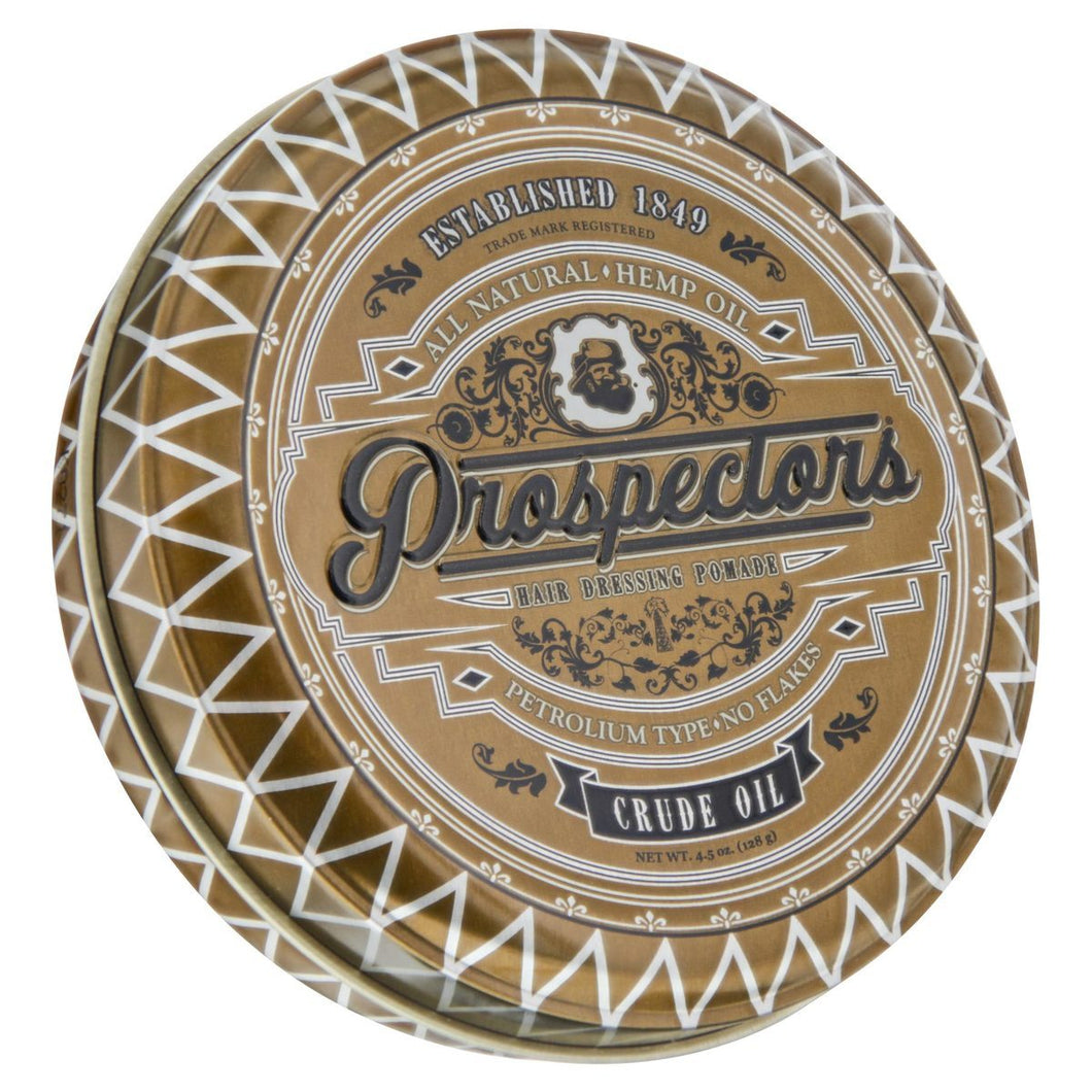 Prospectors Crude Oil Pomade, front