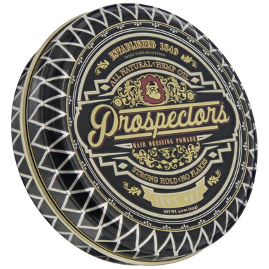 Prospectors Iron Ore Pomade, front