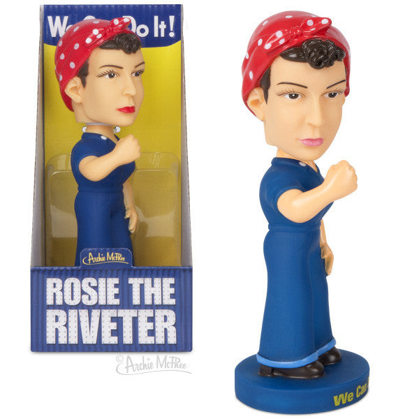 Rosie the Riveter Nodder