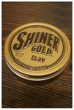 Load image into Gallery viewer, Shiner Gold Maximum Matte Clay Pomade, top