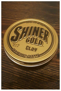Shiner Gold Maximum Matte Clay Pomade, top