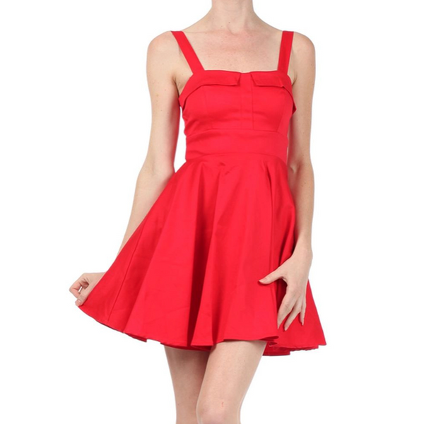 Red Ixia Dress