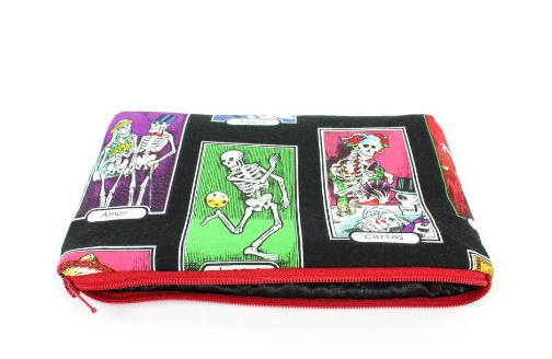 Skeletons Wallet / Bag / Small Makeup Bag