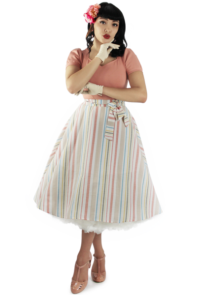 Striped Pinup Skirt