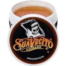 Load image into Gallery viewer, Suavecito Original Pomade, open lid