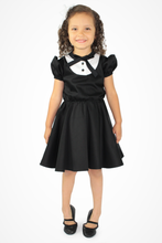 Load image into Gallery viewer, Girl's Tuxedo Dress, front