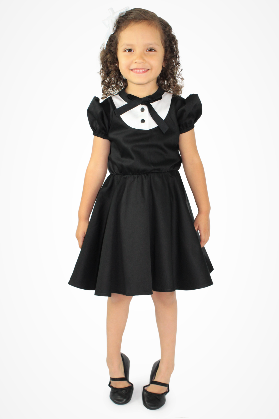 Girl's Tuxedo Dress, front