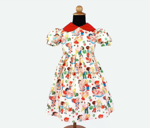 Candy and Ice Cream Child's Dress