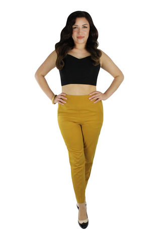 Pin up Stretchy Black Crop Top