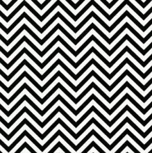 Load image into Gallery viewer, chevron black and white print
