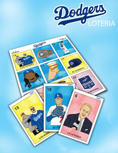 Dodgers Loteria by Ruthlezz Society
