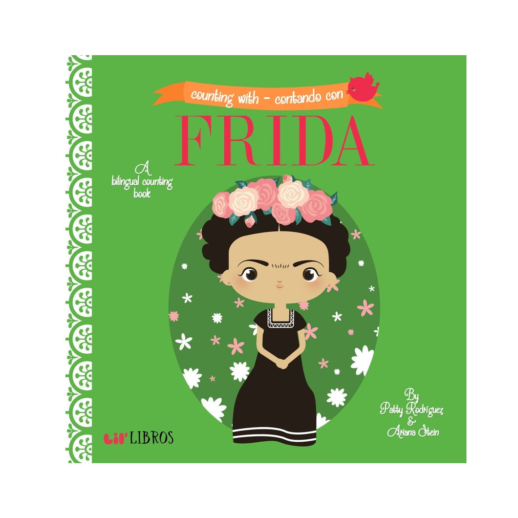 Counting With / Contando Con Frida Children's Book