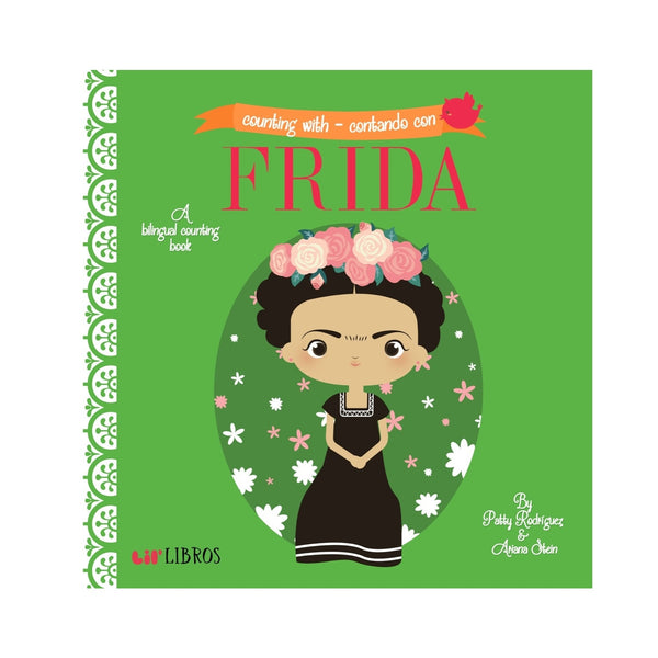 Counting With/Contando Con Frida Children's Book