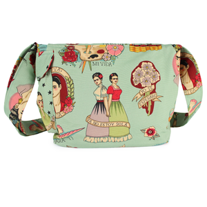 Frida messenger bag back
