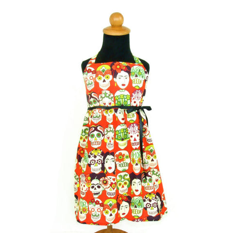 Frida and Skulls Girl's Dress