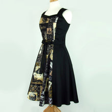 Load image into Gallery viewer, Edgar Allan Nevermore Circle Dress on mannequin