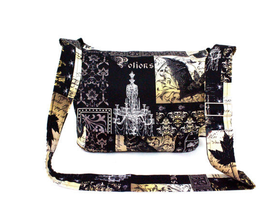 """What a Square"" Nevermore Messenger Bag"