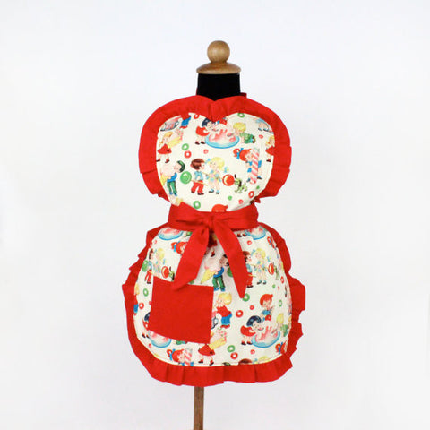 """Snack Sized"" Child Candy and Ice Cream Apron"