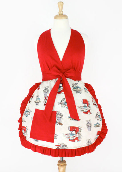 """Sugar and Spice"" Mix it Up Apron"