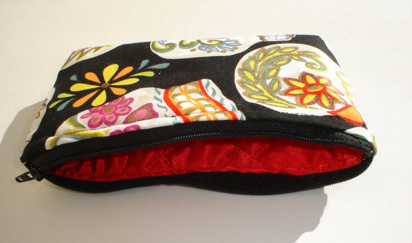 Black Sugar Skulls Wallet