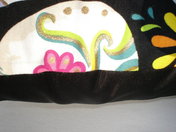 Sugar Skull Throw Pillow 12X12""