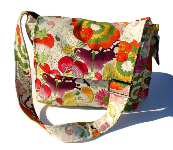 """What a Square"" Fruitful Harvest Messenger Bag"