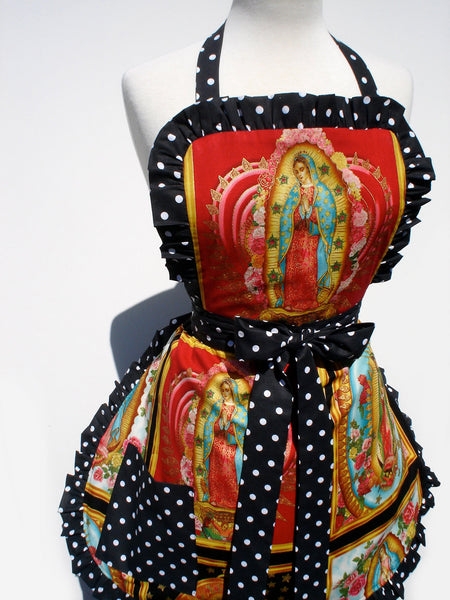 """Butter Me Up"" Guadalupe Red Apron"