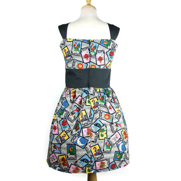 """Riding Shotgun"" Loteria Dress"
