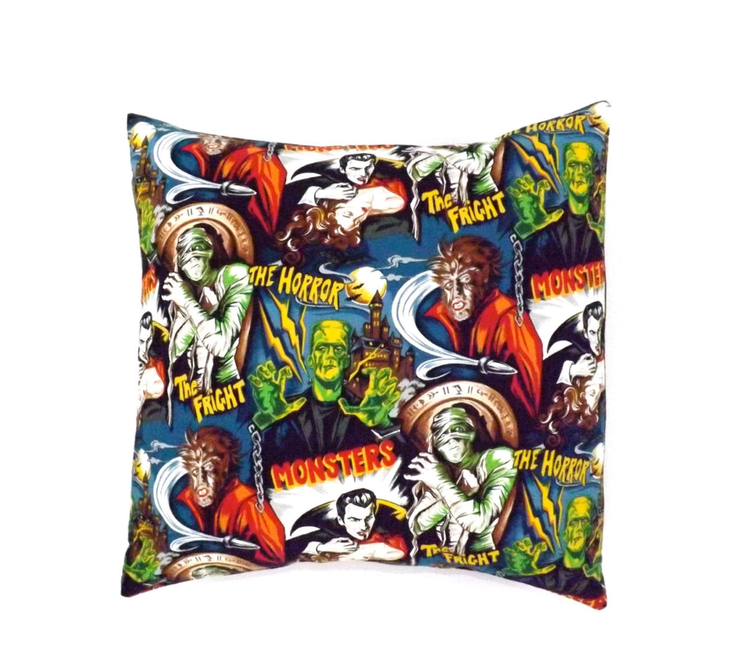 Hollywood Monsters Pillow Cover