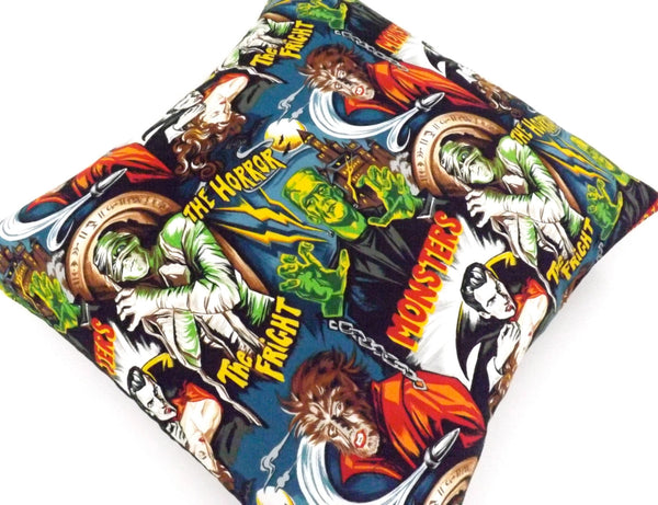 Horror Movie Monsters Pillow Cover Pillow Case 18 x 18