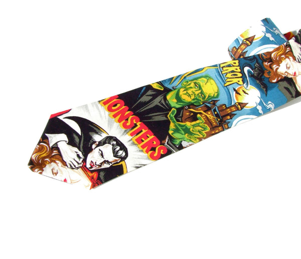 Hollywood Monster Movie Necktie