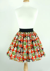 frida skirt on mannequin