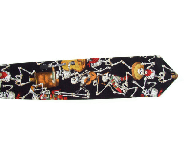 Day of the Dead Ties / Retro Mens Tie