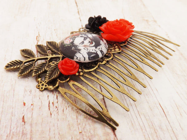 Rockabilly Wedding Vintage Inspired Hair Comb