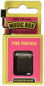 "Hand Crank Music Box ""Pink Panther"""