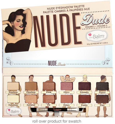 Nude Dude Eyeshadow Palette