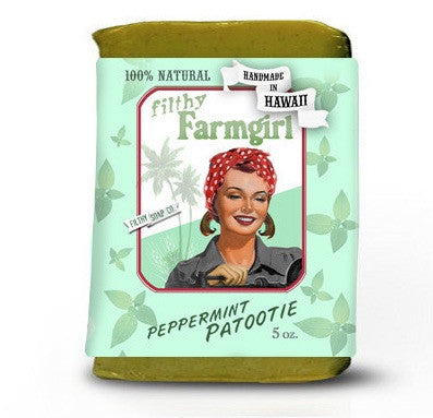 Filthy Farmgirl - Small Peppermint Patootie Soap