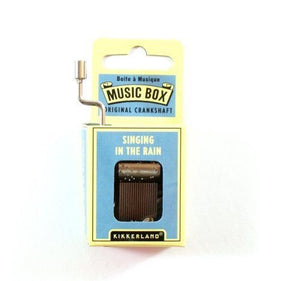 "Hand Crank Music Box ""Singing In The Rain"""