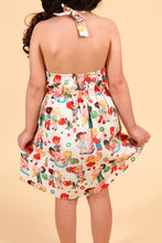 Load image into Gallery viewer, Girl's Vintage Candy Dress, back