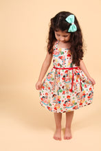 Load image into Gallery viewer, Girl's Vintage Candy Dress, front