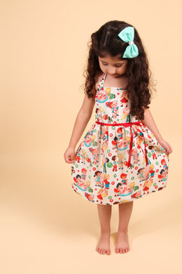 Girl's Vintage Candy Dress, front