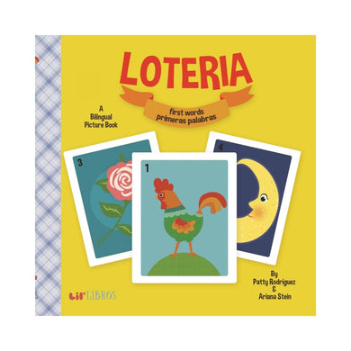 Loteria: First Words/Primeras Palabras Children's Book