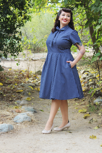 """I Love Lucy"" Inspired Circle Dress"