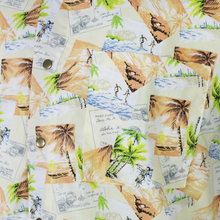 Load image into Gallery viewer, Men's Vintage Inspired Tropical Short Sleeve Shirt