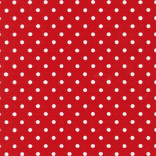 Load image into Gallery viewer, red polka dot material