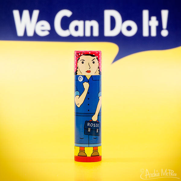 Rosie the Riveter Lip Balm