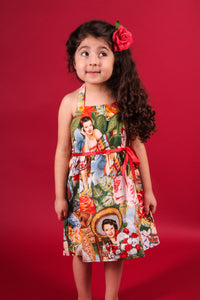 "Girl's ""Senoritas"" Dress, full front"