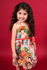 "Girl's ""Senoritas"" Dress, front"
