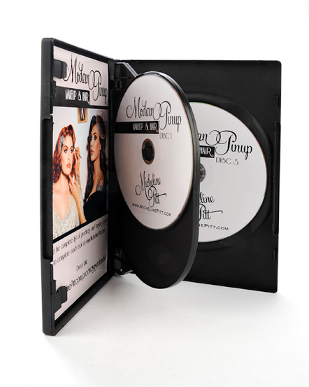 Modern Pinup Makeup and Hair 3 DVD set